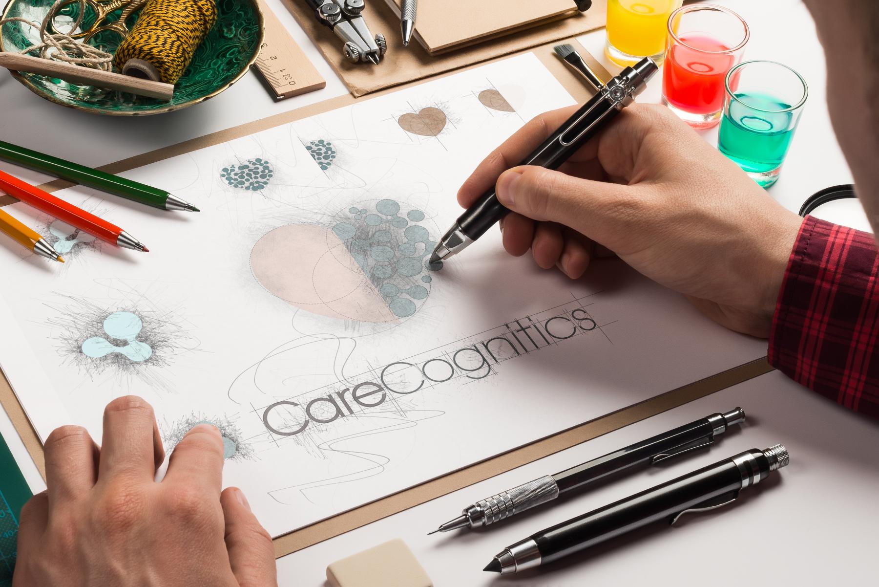 Care Cognitics Logo Design
