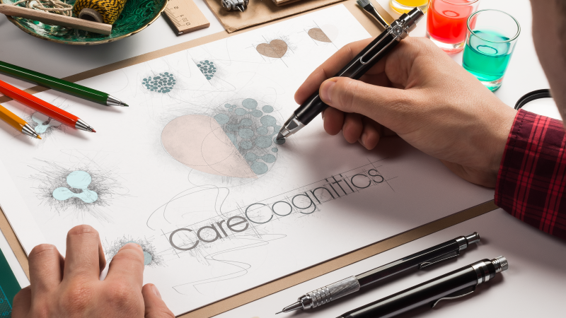 Care Cognitics Logo Design